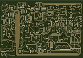 Circuit Board,Electricity,Diagram,Electronics Industry,Electrical Equipment,Plan,Computer Chip,Vector,Computer,Mother Board,Technology,Chart,Electrical Component,Backgrounds,Transistor,Ilustration,CPU,Connection,Equipment,Communication,Computer Part,Technology,Electronics,Illustrations And Vector Art,Input Device,Computers