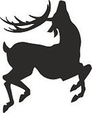 Vertical,Abstract,Silhouette,Computer Graphics,Background,Deer,Trophy,Outdoors,Animal Wildlife,Animal,Greeting Card,Design,Horned,Mammal,Animals In The Wild,Buckhorn Lookout,Illustration,Nature,Shape,Male Animal,Symbol,Animal Markings,Art Product,Outline,Isolated,Computer Graphic,Decoration,Backgrounds,Stag,Antler,Print,Vector,Design,Drawing - Art Product,Pattern,Black Color