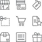 Vertical,Adulation,Order,Shipping,Coupon,Holiday - Event,Industry,Single Line,Box - Container,Illustration,Symbol,Ticket,Business Finance and Industry,Store,Internet,Retail,Flat,Price Tag,Paying,Thin,Shopping,Gift,Shopping Cart,Freight Transportation,Credit Card,Group Of Objects,Delivering