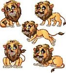 61811,Cut Out,Vertical,Humor,Characters,Friendship,Africa,Male Animal,Animals In The Wild,Animal,Lion - Feline,Large,Fun,Animal Tongue,Vector,Human Body Part,Tail,Large,Animal Hair,Walking,Animal Body Part,Animal Mouth,Mammal,Mascot,Cheerful,Cute,Happiness,Human Face,Illustration,Fang,Tail Fin,Animal Head,Animal Fin,Young Animal,Animal Wildlife,Feline,Cartoon,Joy,Standing,Smiling,Sitting,Brown