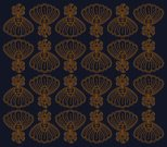 Batik,Indonesian Culture,Vector,Textile,Indigo,Majestic,Floral Pattern,Drawing - Art Product,Blue,Brown,Pen And Ink,Homemade,Spotted,Composition,Vector Ornaments,Illustrations And Vector Art,Design Element,Arrangement