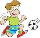 Child,60161,Horizontal,Humor,Relaxation,Boys,Males,Recreational Pursuit,People,Ball,Simple Living,Lifestyles,Fun,Sport,Vector,Leisure Activity,Jogging,Kids' Soccer,Illustration,Soccer,Running,Playing,Clip Art,Soccer Ball,Cartoon,Healthy Lifestyle,Exercising