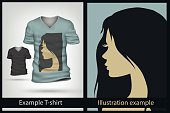 Teenager,Teenagers Only,Horizontal,Teenage Girls,Vector,Illustration,Hairstyle,Clothing