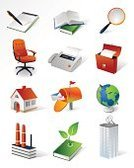 Symbol,Three-dimensional Shape,Book,Office Interior,House,Built Structure,Factory,Healthcare And Medicine,Internet,Fax Machine,Business,Set,Building Exterior,Construction Industry,Working,Environment,Note Pad,Office Building,Green Color,Letter,Chair,Mailbox,Vector,Computer,Globe - Man Made Object,Transparent,Briefcase,Pollution,Interface Icons,Computer Graphic,Nature,Magnifying Glass,Plant,Digitally Generated Image,Isolated,Image,Global Communications,White Background,Shadow,Internet Icon,business building