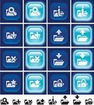 Add,File,upload,Symbol,Interface Icons,Icon Set,White,Downloading,Computer Icon,Push Button,Delete Key,Searching,Magnifying Glass,Black Color,favorite,Start Button,Blue,Advice,Set,Vector Icons,Lock,Illustrations And Vector Art,Square Shape,Vector,Ilustration,Padlock,Light - Natural Phenomenon