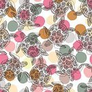 Square,Animal Shell,Background,Animals In The Wild,Animal,Undersea,Tropical Climate,Animal Markings,Backgrounds,Zoo,Turtle,Summer,Sea,Arts Culture and Entertainment,Illustration,Seamless Pattern,Nature,Animal Wildlife,Fashion,Textile,Pattern,Polka Dot,Pink Color
