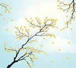 Tree,Branch,Leaf,Autumn,Falling,Silhouette,Vector,Pattern,Ilustration,Wind,Backgrounds,Sky,Sun,Design,Blue,Orange Color,Sunlight,October,Season,Ornate,Cloudscape,Botany,Twig,Design Element,Art,Plant,September,Light - Natural Phenomenon,Cloud - Sky,Air,Yellow,Nature,Space,Color Image,Beauty In Nature,Image,Decoration,Back Lit,Paintings,Nature Backgrounds,Plants,Nature,Illustrations And Vector Art,Vector Florals,Colors,Elegance,Beauty,Painted Image,Part Of,Deciduous Tree