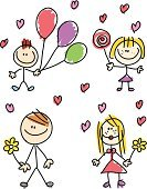 Child's Drawing,Family,Mother,Child,Line Art,Drawing - Art Product,Cartoon,Father,Brother,Sister,Daughter,Vector,Pencil Drawing,Doodle,Son,Cheerful,Happiness,Simplicity,Offspring,Ilustration,Sketch,Image,Sparse,Positive Emotion,Group Of People,Families,Illustrations And Vector Art,Multi Colored,Nature,Lifestyle
