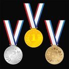 268624,268625,Sport Icon,Square,Good Sportsmanship,Success,Competition,Coin,Gold Medal,World Title,First Place,Silver Medal,Sport,Vector,Medalist,Third Place,Winning,International Multi-Sport Event,Second Place,Symbol,Illustration,Gold,Bronze - Alloy,Cartoon,Silver - Metal,Medal,Sports Race,Competitive Sport,Bronze Medal,Silver Colored,Gold Colored,Bronze Colored