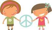 Friendship,Symbols Of Peace,Peace Sign,Child,Peace Symbol,School Children,Elementary Student,Sign,Love,Symbol,Little Girls,Happiness,Peace On Earth,Holding,People,Babies And Children,Lifestyle,Teamwork,Team,Teamwork,Cheerful,Concepts And Ideas