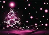 Christmas,Pink Color,Winter,Tree,Backgrounds,Modern,Abstract,Vector,Holiday,Greeting,Snow,Christmas Ornament,Computer Graphic,Swirl,Pattern,Christmas Decoration,Celebration,Ice,Decoration,Crystal,Snowflake,Nature,Design,Star Shape,Season,Ilustration,Curve,Ornate,Cultures,Image,flakes,Frost,Shape,Weather,Painted Image,Wave Pattern,Blizzard,Christmas,New Year's,Holidays And Celebrations,Holiday Backgrounds,Pine Tree,Cold - Termperature,December