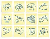 Symbol,Currency,Adhesive Note,Icon Set,Finance,Business,Coin,Wallet,Drawing - Art Product,Note Pad,Wealth,Savings,Piggy Bank,Growth,Scale,Loan,Gold,Buy,Selling,Dollar Sign,Ilustration,Investment,Safe,Dollar,Paper,Set,Vector,Stock Market,Credit Card,Sign,Ideas,Success,Yellow,Money Bag,Graph,Concepts,Pencil Drawing,Message,Clip Art,Reminder,Exchange Rate,Currency Symbol,Ink,hand drawn,Consumerism,Concepts And Ideas,Business,Business Symbols/Metaphors