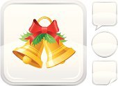 Chinese Lantern Lily,Bell,Christmas,Vector,Silver Colored,Silver - Metal,Cartoon,Holly,Interface Icons,Symbol,Gold,Red,Gold Colored,Label,Holiday,Ilustration,Shiny,Bow,Christmas Decoration,No People,Leaf,Modern,Sphere,Empty,Yellow,White Background,Isolated On White,Square,Square Shape,Bubble,Set