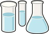 Beaker,Conical Flask,Laboratory,Cylinder,Science,Equipment,Glass,Liquid,Industrial Objects/Equipment,Science Symbols/Metaphors,Objects/Equipment,Medicine And Science,Equipment