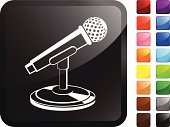 Microphone,Technology,Ilustration,Red,Black Color,Green Color,Sound,White Background,Blue,Shiny,Digitally Generated Image,Orange Color,Symbol,Audio Equipment,Design,Recording Studio,Label,Computer Icon,Purple