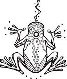 Vertical,Flower,Animal,Frog,Illustration,Symbol,Animal Tongue,Animal Mouth,Reptile,Vector,Drawing - Art Product