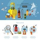 Square,Protection,Service,Insecticide,People,Insect,Service,Crop Sprayer,Beetle,Chemical,Poisonous,Spider,Vector,Professional Occupation,Exterminator,Ventilator,Bedbug,Pest Control Equipment,Parasitic,Illustration,Cockroach,Mosquito,Infographic,Disinfection