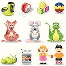 Toy,Symbol,Child,Kangaroo,Dragon,Computer Icon,Icon Set,Yo-yo,Offspring,Caterpillar,Mouse,Little Boys,Vector,Fun,Humor,Set,Playing,Play,Drum,Slimy,Apple - Fruit,Playful,Lifestyle,Babies And Children,People,Teens