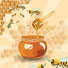 Square,Color Image,No People,Bumblebee,Agriculture,Orange - Ohio,Spindle,Honeycomb,Scented,Illustration,Honey Bee,Orange - Virginia,Food,Honey,Flowing,Liquid,Orange - California,Bee,Insect,Backgrounds,Orange - New Jersey,Lifestyles,Vector,Sweet Food,Bottle,Yellow,Brown