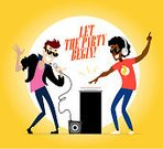 Child,Adult,Black Skin,60024,dance and electronic,Curve Hair,104872,African Nationality,Horizontal,Noise,Boys,Men,Music,Sound,Microphone,Singer,Cartoon,Cheerful,Headphones,Beautiful People,Dance Music,Illustration,People,Social Gathering,Energy,Recording Studio,Human Body Part,Flat,Portrait,Playing,Playful,Arts Culture and Entertainment,Lifestyles,Fun,Dynamic Microphone,Human Face,Party - Social Event,Occupation,Dancing,Costume,Smiling,Sunglasses,Standing