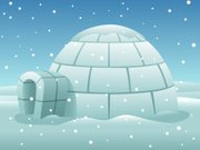Igloo,Winter,Arctic,Snowing,House,Ice,Snow,Residential Structure,Landscape,Non-Urban Scene,Built Structure,Cold - Termperature,Cube Shape,Travel Locations,Architecture And Buildings,Illustrations And Vector Art,Blue,White,Outdoors,Season
