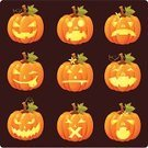 Pumpkin,jack-o-lantern,helloween,Human Face,Halloween,Vector,Carving - Craft Product,Spooky,Symbol,Horror,Icon Set,Set,Smiling,Smiley Face,Evil,Art,Illuminated,Ilustration,Glowing,Cultures,Ornate,Surprise,Drawing - Art Product,Autumn,Orange Color,Holidays And Celebrations,Painted Image,Halloween,Holiday Symbols,Holiday,Design,Facial Expression,Vector Icons,Light - Natural Phenomenon,Illustrations And Vector Art,Season,Celebration,October,Collection
