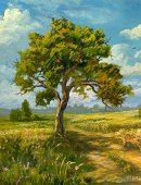 Tree,Inside Of,Ilustration,Field,Landscape,Autumn,Lone,Single Lane Road,Cloud - Sky,Summer,Cloudscape,Scenics,Springtime,Impressionism,Leaf,Sun,Paintings,Backgrounds,Meadow,Green Color,Art,Vertical,Farm,Non-Urban Scene,Sky,Grass,Wildlife Reserve,Rural Scene,Loneliness,Above,Harvesting,Candid,Wheat,Solitude,Nature,Painted Image,Environment,Realism,Agriculture,Sunlight,Land,Landscaped,Simplicity,Fall,Arts And Entertainment,Plant,Visual Art,Horizon Over Land,Blue,Yellow,Beauty In Nature,Clear Sky,Colors,No People,Remote,Color Image,Nature,Idyllic,Plants