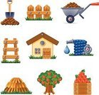 Vegetable Garden,Gardening,Computer Icon,House,Formal Garden,Dirt,Ornamental Garden,Icon Set,Flower Bed,Garden Hose,Hay,Barrow,Fence,Shovel,Water,Drinking Water,Land,Box - Container,Fruit,Faucet,Working,Steps,Occupation,Tree,Interface Icons,Crop,Staircase,Harvesting,Vector Icons,Gardens,Nature,Illustrations And Vector Art