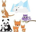 Child,Horizontal,Characters,Togetherness,Bonding,Deer,Offspring,Bear,Love,Animal Wildlife,Animal,Cute,Cartoon,Tropical Rainforest,Mother,Collection,Animals In The Wild,Illustration,Polar Bear,Zoo,Kangaroo,Baby Shower,Family,Mother's Day,Fawn,Bird,Parent,Bear,Young Animal,Owl,Panda - Animal,Vector,Pastel Colored