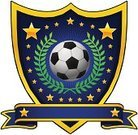 Soccer,Insignia,Coat Of Arms,Soccer Ball,Shield,Sport,Team,Vector,Gold Colored,Ball,Banner,Blue,Laurel Wreath,Ilustration,Team Sports,Vector Ornaments,Sports And Fitness,Star Shape,Decoration,Illustrations And Vector Art