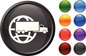 Freight Transportation,Truck,Symbol,Globe - Man Made Object,Computer Icon,Shiny,Shipping,Global Business,Global Communications,Computer Graphic,Green Color,Sphere,Land Vehicle,Blue,Vector,Sparse,Modern,Empty,No People,Digitally Generated Image,White Background,Black Color,Design,Red,Purple,Orange Color,Ilustration