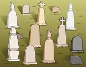 Cemetery,Tombstone,Halloween,Vector,Spirituality,Halloween,Holidays And Celebrations,Illustrations And Vector Art,Religion