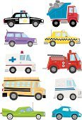 Car,Bus,Truck,Traffic,Ambulance,Mode of Transport,Taxi,Vector,Transportation,Emergency Services,Land Vehicle,Side View,Ilustration,Loading,Construction Industry,Sedan,Commuter,Sports Utility Vehicle,Tail Fin,Hybrid Vehicle,Transportation,Modern Life,Illustrations And Vector Art,Concepts And Ideas