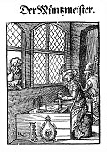 78273,XVI Century,Vertical,Retro Styled,Black And White,Computer Graphics,Craft,Art And Craft,Art,16th Century,Equipment,Work Tool,Old-fashioned,Engraved Image,Industry,Finance,16th Century Style,Wood - Material,Illustration,People,Art Product,Renaissance,Business Finance and Industry,Computer Graphic,Coin,Antique,Workshop,Etching,Engraving,Craftsperson,Finance and Economy,Carving - Craft Product,Print,Monoprint,Drawing - Art Product,Working,Occupation