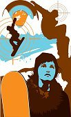Snowboard,Teenager,Sport,Silhouette,Cool,Women,Youth Culture,Snow,Vector,Winter,City Life,Extreme Sports,Mountain,Target,Fashion,Teenage Girls,Urban Scene,Young Adult,Vacations,Ilustration,Funky,Ski Slope,Design,City,Sports Race,Addiction,At The Edge Of,Rebellion,Weekend Activities,Tourist Resort,Springtime,Travel Destinations,Color Image,Cold - Termperature,Competition,Speed,Aspirations,Sky,Nature,Breaking,Hill,Multi Colored,Competitive Sport,Passion,Exercise,Beauty And Health,Concepts And Ideas,Sports And Fitness,White Background,Vertical