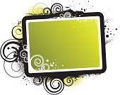Frame,Swirl,Grunge,Dirty,Green Color,spatter,Paint,Abstract,Spiral,Decor,Computer Graphic,Youth Culture,Decoration,Vector,Design,Illustrations And Vector Art,Copy Space,Painted Image,Vector Ornaments,Ilustration,Vector Backgrounds,Stained,Design Element,Ornate,Creativity
