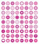 Symbol,Pink Color,Geometric Shape,Daisy,Femininity,Vector,Web Page,Simplicity,svg,Plant,Fun,dings,Ilustration,Freshness,gurly