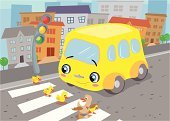 Cartoon,Crosswalk,Bus,Street,Duck,Crossing,House,Road,School Bus,City,Stoplight,Duckling,Pedestrian Crossing Sign,Tree,Small,Stop,Sidewalk,Coach Bus,Transportation,Row House,Urban Scene,Vector,Door,Simplicity,Red,Footpath,Green Color,Ilustration,Staircase,Waiting,Mode of Transport,Window,Asphalt,Vector Cartoons,Transportation,Roof,Illustrations And Vector Art,Blue,With Background,Gray,footway,Black Color,White,Anticipation,Brown,Yellow,light signal,apartment house,Two Lane Highway