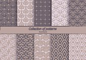 Horizontal,No People,Illustration,Seamless Pattern,Backgrounds,Group Of Objects,Pattern,Tracery