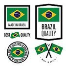 268399,Made In,Square,Brazil,No People,Banner,Collection,Illustration,Icon Set,Computer Icon,Symbol,Banner - Sign,Aubusson,Insignia,Flag,Curve,Modern,Vector,Badge,Design Element