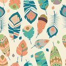 61814,Square,Retro Styled,No People,Feather,Collection,Illustration,Pattern,Boho