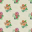 Square,No People,Summer,Illustration,Nature,Flower Head,Seamless Pattern,Decoration,Botany,Backgrounds,Bouquet,Multi Colored,Red,Pattern,Pink Color
