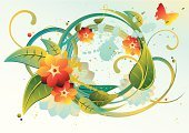 Abstract,Imagination,Idyllic,Watercolor Painting,Flower,Single Flower,Swirl,Vector,Backgrounds,Nature,Floral Pattern,Pastel Colored,Springtime,Butterfly - Insect,Leaf,Shiny,Wreath,Branch,Symbol,Funky,Grunge,Concepts,Design,Summer,flourishes,Growth,Freshness,Multi Colored,Bright,Green Color,Vitality,Curve,Decoration,Lush Foliage,Spray,Ornate,Blossom,Ilustration,No People,Drop,Illustrations And Vector Art,Nature,Vibrant Color,Innocence,Flowers,Nature Abstract,Vector Backgrounds,Splattered,Blue
