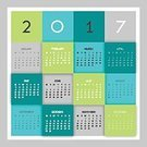 Square,No People,2017,Holiday - Event,Illustration,Decoration,Backgrounds,Calendar,Vector