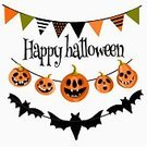 Vertical,Spooky,Background,Banner,Holiday - Event,Cheerful,Illustration,Advertisement,Banner - Sign,Lantern,Backgrounds,Halloween,Flag,Bat - Animal,Pumpkin,Vector,Orange Color,Laughing