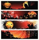 Halloween,Banner,Placard,Pumpkin,Backgrounds,Vector,Horror,Symbol,Tree,Spooky,Autumn,Cemetery,Moon,Art,Evil,Grunge,Fairy Tale,Computer Graphic,Cartoon,Leaf,Bat - Animal,Tombstone,Devil,Holiday,Night,Season,Black Color,Ilustration,October,Fear,Red,Celebration,Silhouette,Dark,Orange Color,Yellow,Nature,Glowing,Painted Image,Wallpaper Pattern