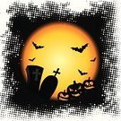 Halloween,Cartoon,Bat - Animal,Pumpkin,Tree,Grunge,Autumn,Moon,Symbol,Tombstone,Black Color,Fairy Tale,Cemetery,Art,Vector,Night,Devil,Leaf,Horror,Backgrounds,Computer Graphic,Silhouette,Evil,Dark,Spooky,Season,Holiday,Red,Wallpaper Pattern,Holiday Symbols,Vector Cartoons,Glowing,Holidays And Celebrations,Nature,Yellow,Illustrations And Vector Art,Orange Color,Fear,October,Ilustration,Celebration