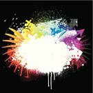 Design,Graffiti,Exploding,Splattered,Grunge,Colors,Backgrounds,Vector,Ilustration,Multi-Layered Effect,Textured,Design Element,Color Image,Textured Effect,Drop,Vibrant Color,Part Of,Digitally Generated Image,Copy Space