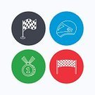 Square,Speed,No People,Sign,Sport,Flag,Computer Software,Car,Circle,Motorcycle,Backgrounds,Straight,Medal,Outline,Award,Illustration,Motor Racing Track,Vector,Background,Mobile App
