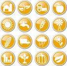 Agriculture,Icon Set,Farm,Wheat,Crop,Corn,Industry,Tractor,Harvesting,Vegetable,Fruit,Corn - Crop,Food,Rural Scene,Pumpkin,Plant,Vector Icons,Agriculture,Industry,Nature,Autumn,Illustrations And Vector Art
